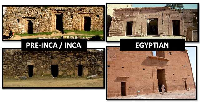 Egyptian-Inca-triptych-temples