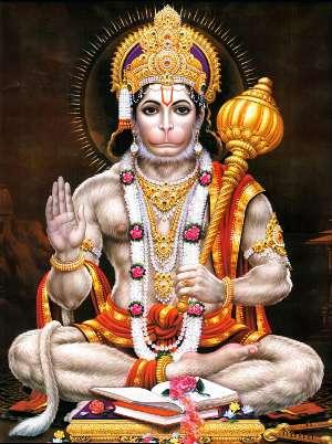 hanuman a perfect devotee