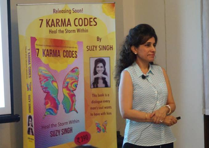 Interview with suzy singh 7 karma codes heal the storm within fandeluxe Image collections