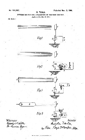 patent-tesla