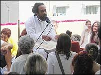 mooji-speaking