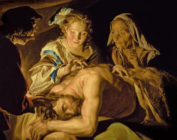 samson-and-delilah-painting-by-matthias-stomer